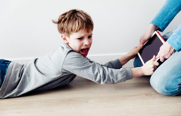 El lado malo del uso de la tecnología en los niños