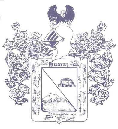 Escudo de Huaraz aprobado inicialmente