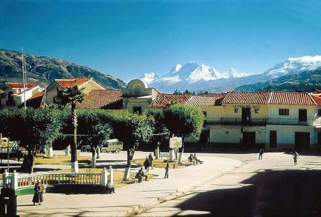 Foto de Huaraz del año 1957