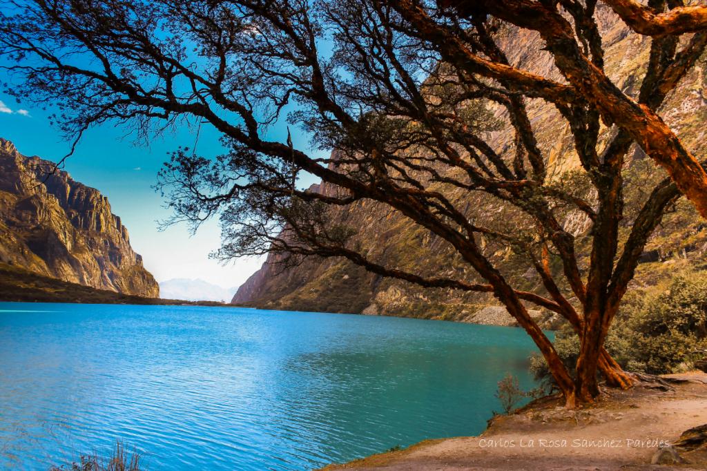 Lagunas de la Quebrada de Llanganuco