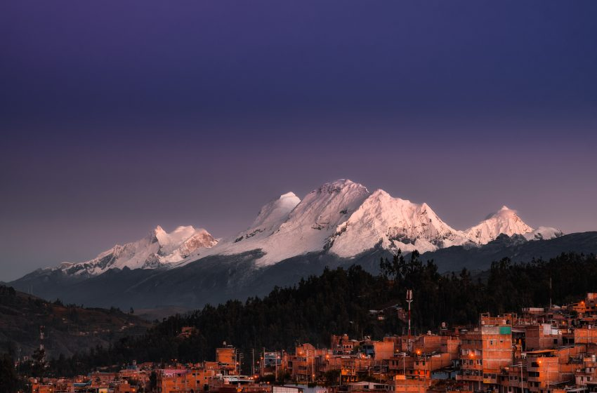 Leyenda de los Nevados Huascarán y Huandoy