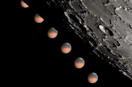 Ocultación de Marte este fin de semana